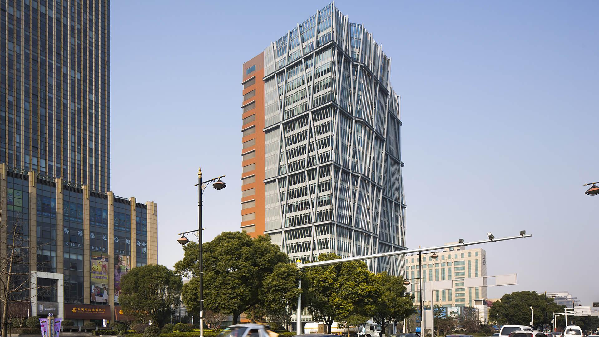 麗嬰房上海總部廠辦大樓